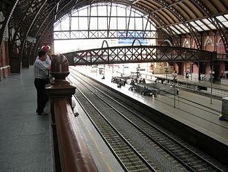 Luz Station - Image: Estaçãodaluzinterior