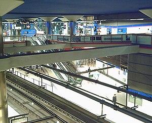 Nuevos Ministerios (Madrid Metro) - Image: Estación de Nuevos Ministerios (Madrid) 01