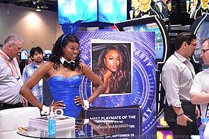 Eugena Washington - Eugena Washington at G2E 2016 in Las Vegas