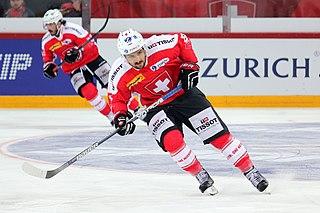 Vincent Praplan Swiss ice hockey player (1994-)