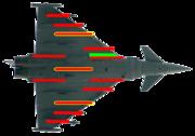 Eurofighter hardpoints