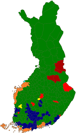European Parliament election, 2014 (Finland) - Image: Eurovaalit 2014