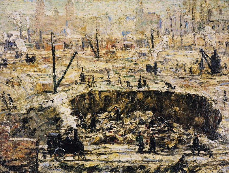 File:Excavation Penn Station Ernest Lawson 1906.jpeg