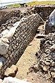 Excavations, part of a Parthian building at Qalatga Darband, Darband-i Rania, Sulaymaniyah Governorate, Iraqi Kurdistan.jpg