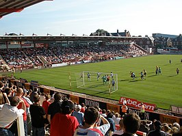 Exeter City take a corner - geograph.org.uk - 971951.jpg