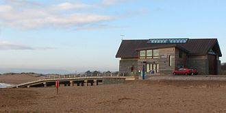 Exmouth Lifeboat Station - Image: Exmouth lifeboat station and slipway