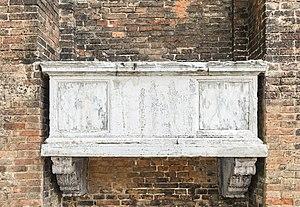 Marino Morosini - Marino Morosini's grave.