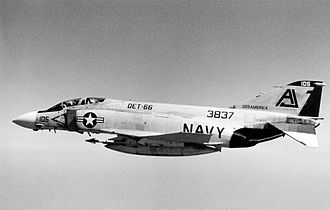 VFA-101 - An F-4J of VF-101 Det.66 in 1971