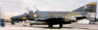 4th Fighter Wing - F-4E-61-MC Phantom 74-1629 of the 336th Tactical Fighter Squadron, 1984.