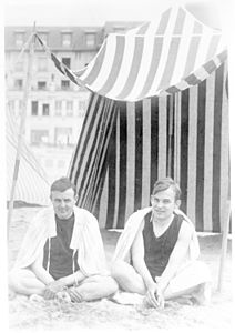 "F.O. ""Matty"" Matthiessen, and Russell Cheney, Normandy, summer 1925.jpg"