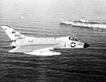 F4D-1 Skyray of VF-102 in flight in 1960.jpg