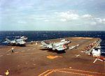 F7U-3Ms of VA-86 on USS Forrestal (CVA-59) 1956.jpg