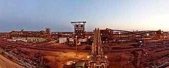 Fortescue Metals Group - Ore Processing Facility, Christmas Creek Mine, Pilbara
