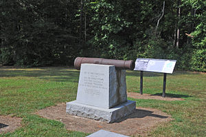 National Register of Historic Places listings in Brunswick County, Virginia - Image: FORT CHRISTANNA, BRUNSWICK COUNTY, VA