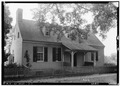 FRONT AND SOUTH SIDE, FACES EAST - Hundley House, Market Street, Mooresville, Limestone County, AL HABS ALA,42-MOVI,3-1.tif