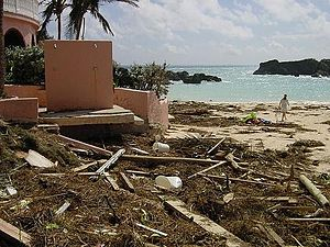 2003 Atlantic hurricane season - Damage from Hurricane Fabian on Bermuda
