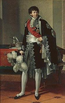 Henri-Jacques-Guillaume Clarke, comte d'Hunebourg et duc de Feltre, maréchal de l'Empire et ministre de la Guerre, François-Xavier Fabre, 1810, Musée des beaux-arts de Nantes.