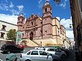 Fachada principal y lateral del ex convento Santo domingo.JPG