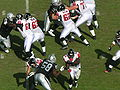 Falcons on offense at Atlanta at Oakland 11-2-08 13.JPG
