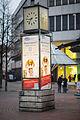 Falke-Uhr Georgstrasse Schmiedestrasse Mitte Hannover Germany 01.jpg