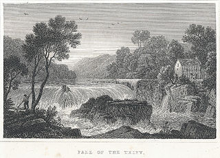 Fall of the Teify, Cardiganshire