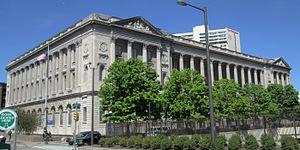 Vine Street (Philadelphia) - Image: Family Court Building Philadelphia