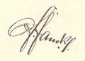 Fanck christian friedrich autograph march 1901.png