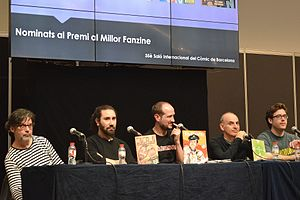Fanzines conference. Barcelona Comic Fair 2017.jpg