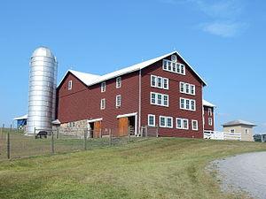 Hubley Township, Schuylkill County, Pennsylvania - Farm on Schwenks Road, Hubley Township.