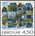 Faroe stamp 397 zacharias heinesen - uti a reyni.jpg