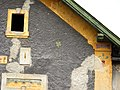 Fasáda domu - detail, Prusice.JPG
