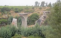 February 2010 Chile earthquake collapsed masonry bridge.jpg