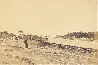 Baliqiao - The bridge in 1860