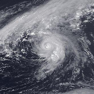 1989 Atlantic hurricane season - Image: Felix 1989 09 05 1801Z