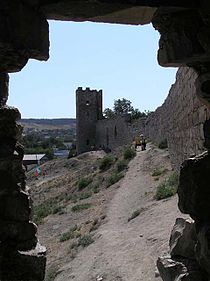 Genoese fortress of Caffa