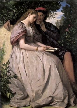 1864 in art - Image: Feuerbach, Paolo und Francesca