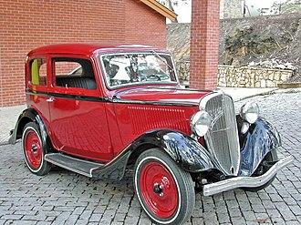 Fiat 508 - Fiat 508B 1934
