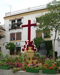 Fiesta de las Cruces 2005 - Plaza del padre cristobal.JPG