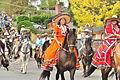 Fiestas Patrias Parade, South Park, Seattle, 2015 - 232 - the horses (21409243070).jpg