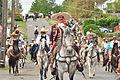 Fiestas Patrias Parade, South Park, Seattle, 2015 - 233 - the horses (20976115923).jpg
