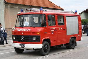 Mercedes-Benz T2 - Fire engine