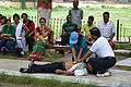 First Aid and Emergency Management Session - Summer Camp - Nisana Foundation - Sibpur BE College Model High School - Howrah 2013-06-08 9085.JPG