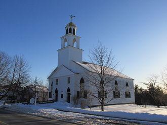 Dunbarton, New Hampshire - First Congregational Church