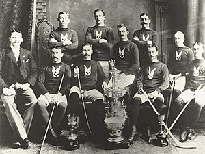 Montreal Hockey Club - The Montreal Hockey Club in 1893 as the first Stanley Cup champions
