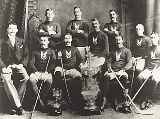 Stanley Cup - The first Stanley Cup Champions: The Montreal Hockey Club (affiliated with the Montreal Amateur Athletic Association)