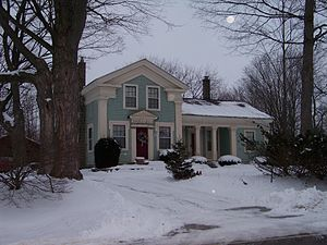 National Register of Historic Places listings in Livingston County, Michigan - Image: Fishbech House