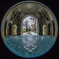 "Fisheye lenses - Canon 8-15 ""Chahar Bagh School"" لنز فیش آی (چشم ماهی) 8-21 کانن، مدرسه چهار باغ اصفهان- ایران.jpg"