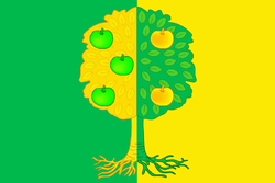 Flag of Michurinskoe (Krasnodar krai).png