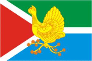 Sosnogorsk - Image: Flag of Sosnogorsk (Komia)