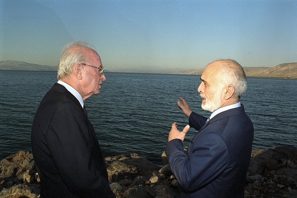 Flickr - Government Press Office (GPO) - PM Yitzhak Rabin and King Hussein of Jordan
